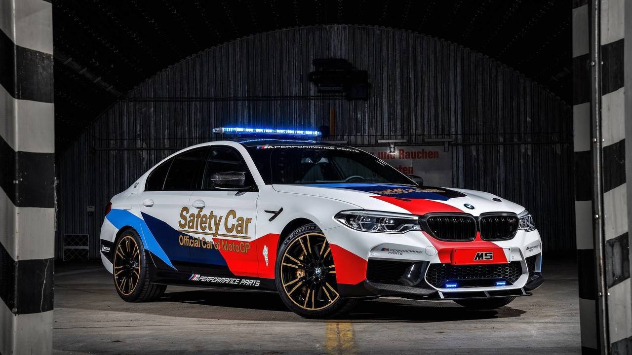 BMW M5 2018 MotoGP Safety Car