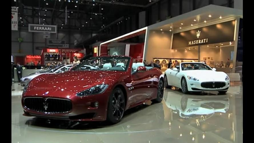 VÍDEO: Maserati exibe o GranCabrio Sport no Salão de Genebra