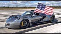 Venenoso: Hennessey Venom GT bate seu próprio recorde ao chegar a 435,3 km/h