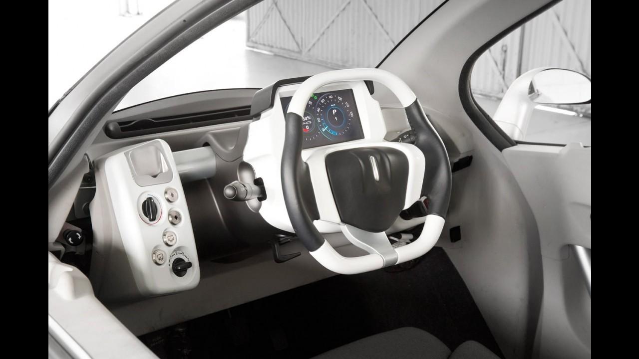 PSA Peugeot-Citroën anuncia o Velv, conceito elétrico para grandes cidades