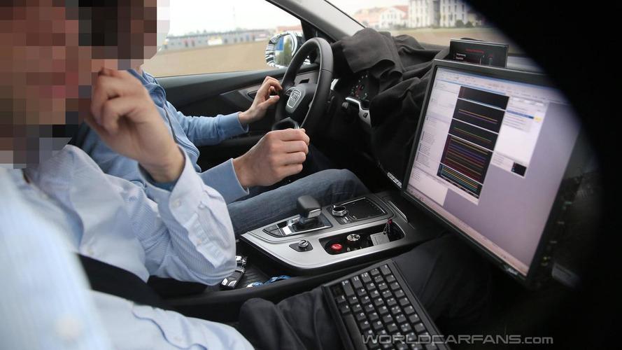 All-new Audi Q7 interior cabin spied