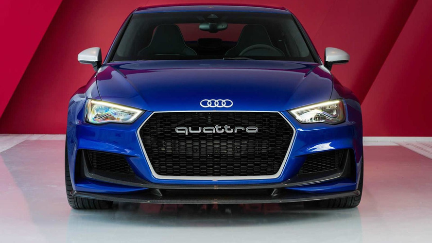 Audi hints at RS3 Sedan based on A3 clubsport quattro concept