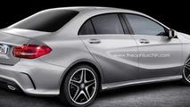 Mercedes-Benz A-Class Sedan render