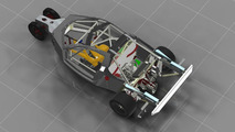 DeltaWing GT chassis