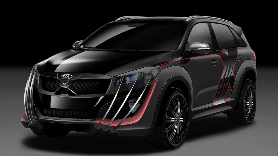 Kia unveils Sorento X-Men with front and rear claws