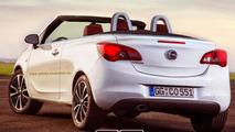 Opel Corsa Cabrio rendering