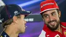 Sebastian Vettel (GER) and Fernando Alonso (ESP) / XPB