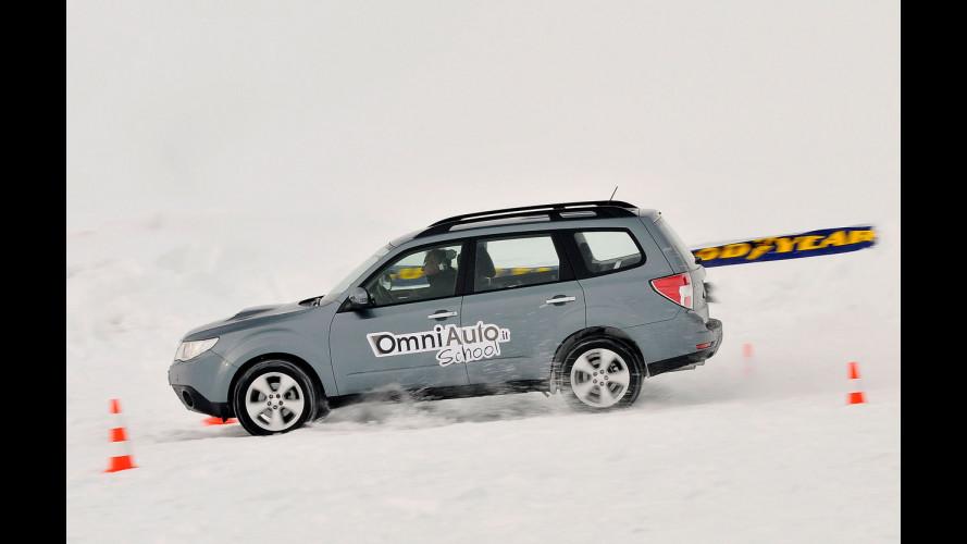 Impara a guidare sulla neve con OmniAuto.it School