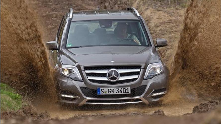 Mercedes GLK restyling, c'è più fuoristrada nel suo DNA