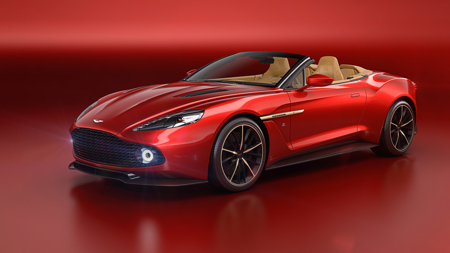 Aston Martin's stunning Vanquish Zagato goes topless for Pebble Beach