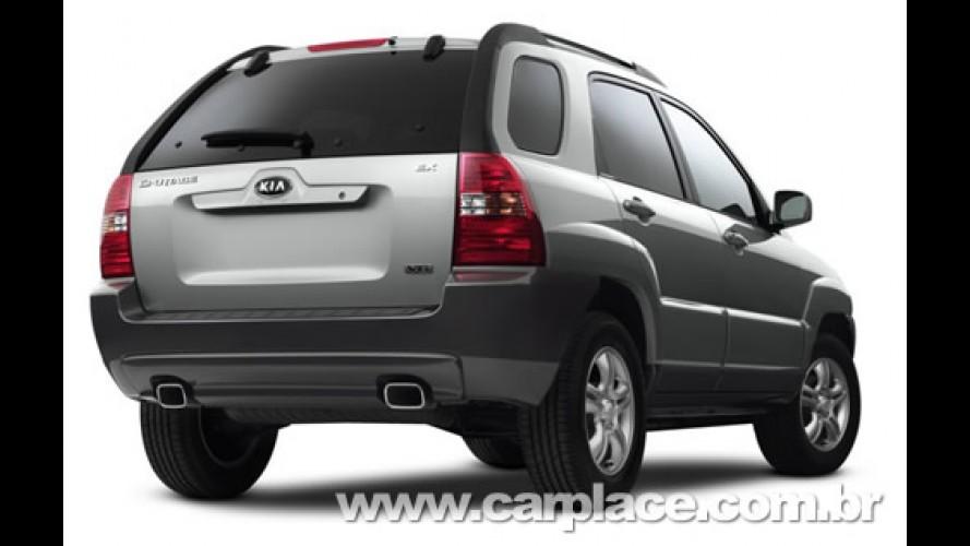 Linha 2009 do Kia Sportage chega por R$ 77.400 mil - Modelo 2008 com taxa zero