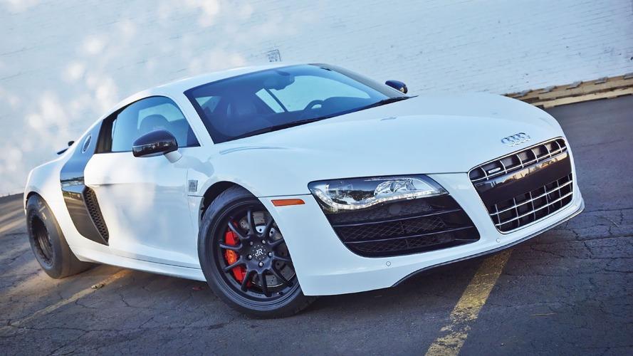 Çift turbolu 1500 bg'lik Audi R8 duyuruldu