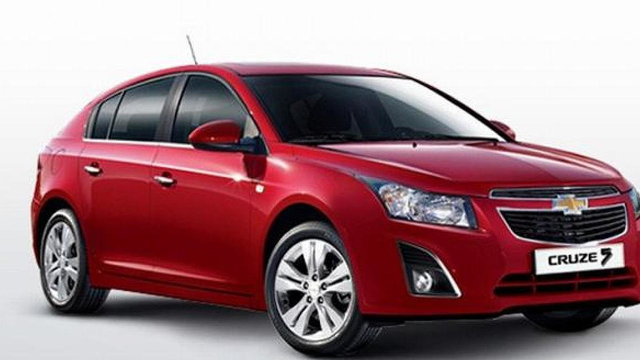 2013 Chevrolet Cruze hatchback facelift