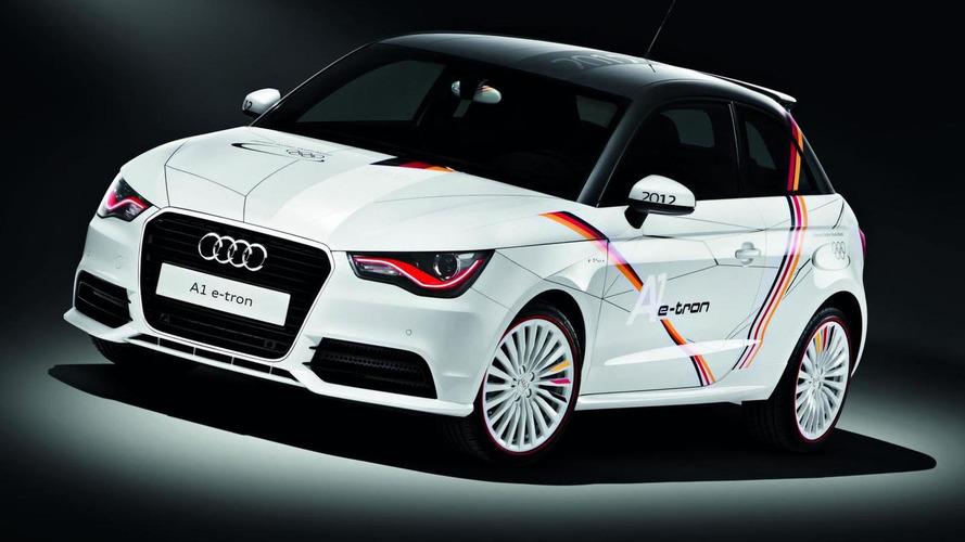 Audi A1 e-Tron gets the Olympic treatment