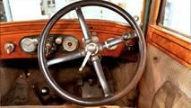 1925 Skoda 110 direksiyon simidi