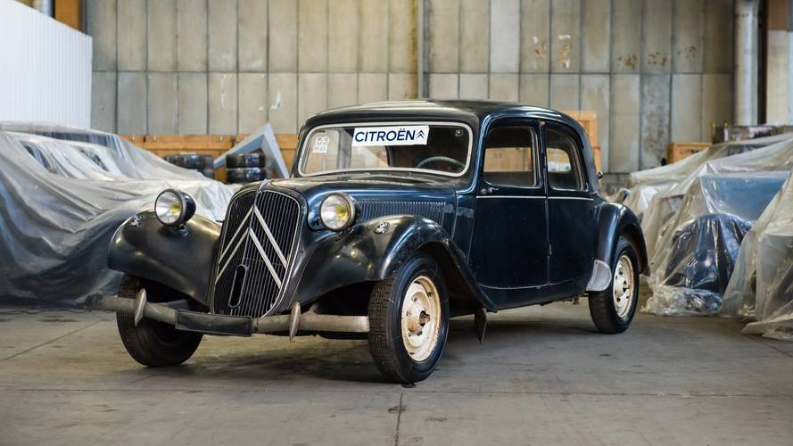 Citroen is selling 65 models from its heritage collection