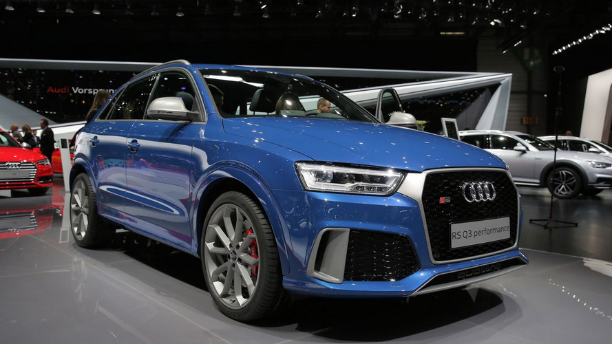 Audi RS Q3 performance arrives in Geneva with 367 hp