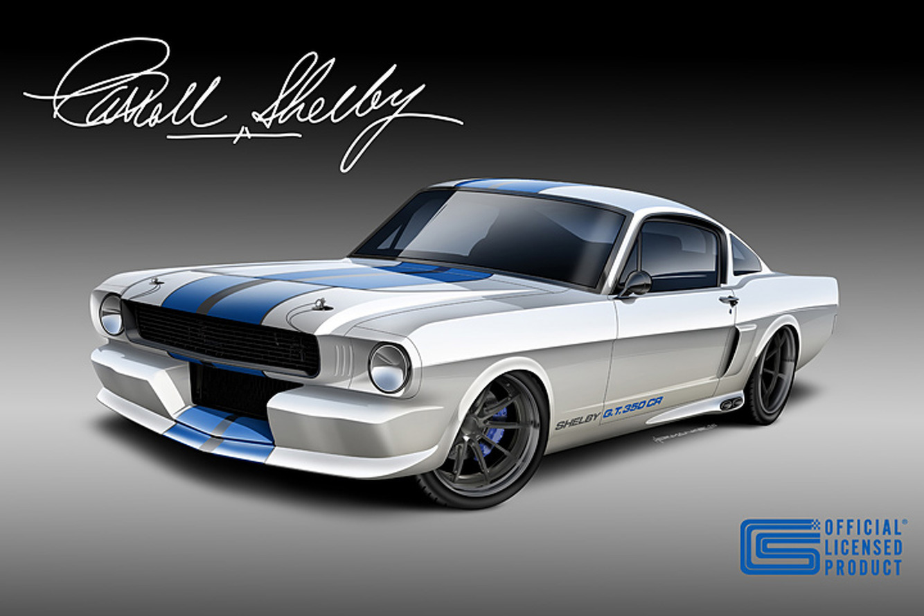 Now You Can Buy A Vintage Shelby Mustang With A Twin-Turbo V6