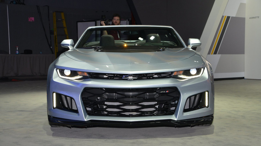 Chevy Camaro ZL1 Convertible