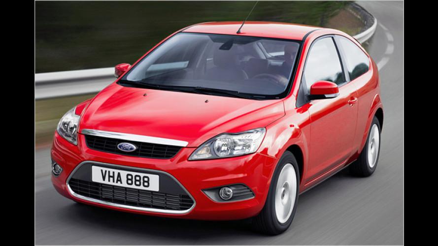Ford Focus: Nun erfüllen vier von zehn Motoren Euro 5