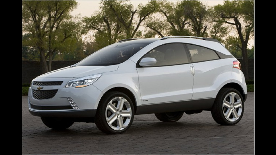 Chevrolet GPiX: Crossover-Konzept ,do Brasil