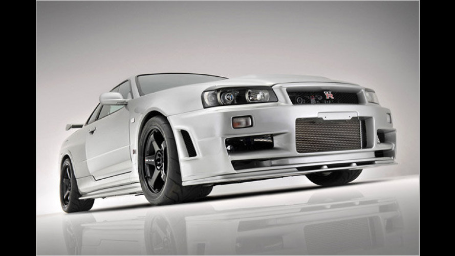 Z-tune-Reminiszenz: Nissan Skyline R34 GT-R ,Japo Spec