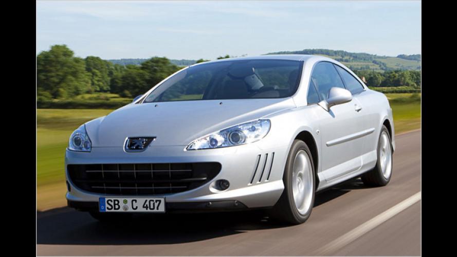 Bis zu 240 PS: Das Peugeot 407 Coupé bekommt neue Diesel