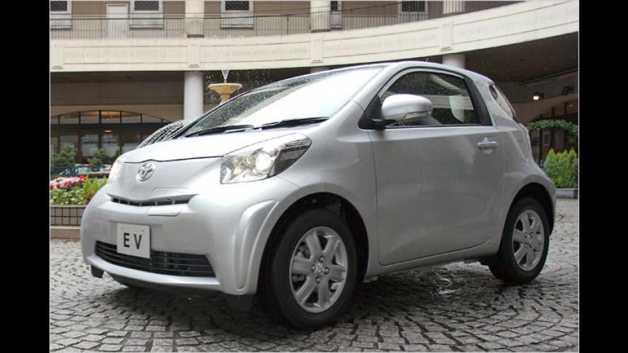 Voll elektrisiert: Toyota iQ bekommt Strom-Bruder