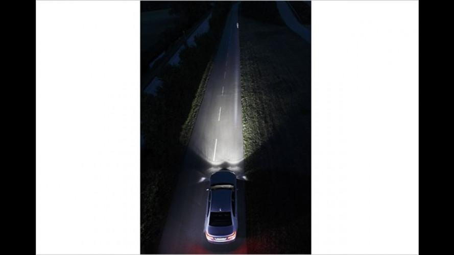 BMW strahlt Fußgänger künftig nachts per Spot an