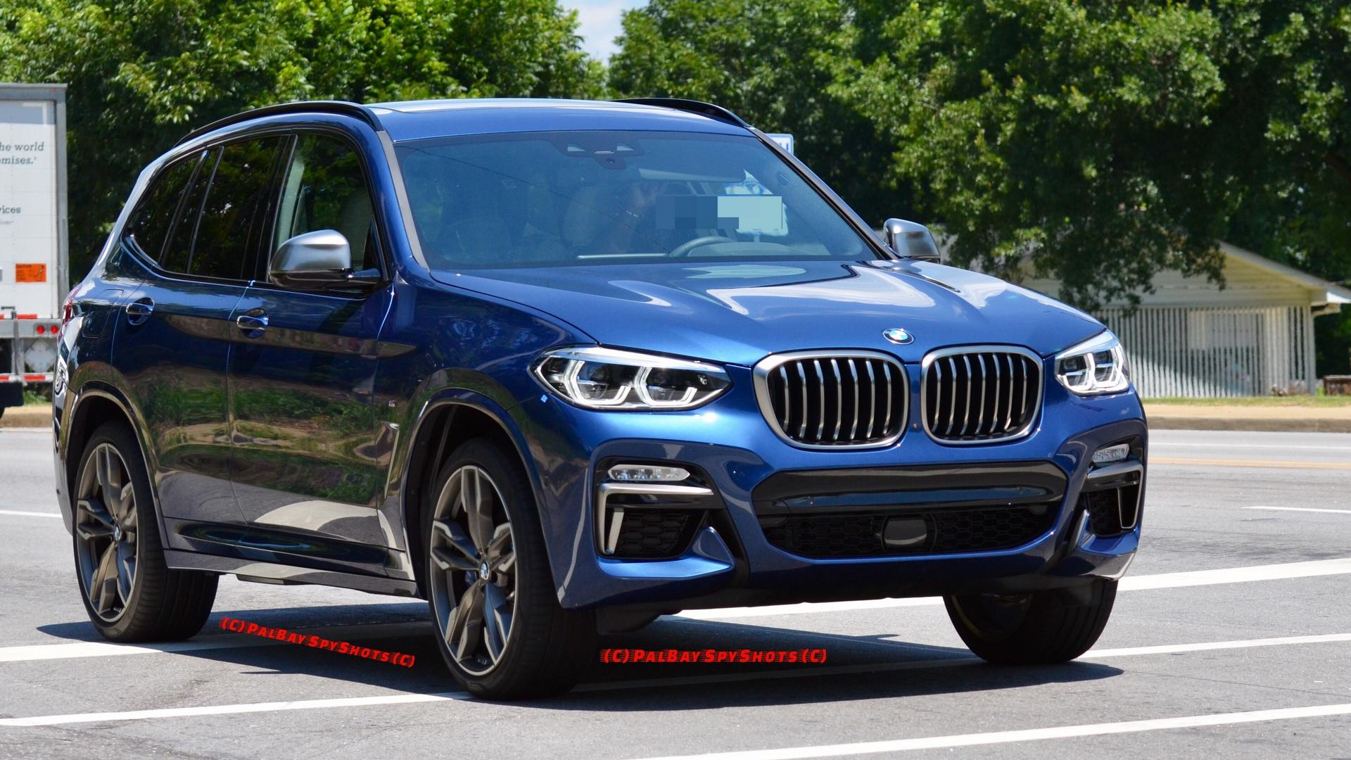 how does the 2018 bmw x3 m40i look in real life. Black Bedroom Furniture Sets. Home Design Ideas