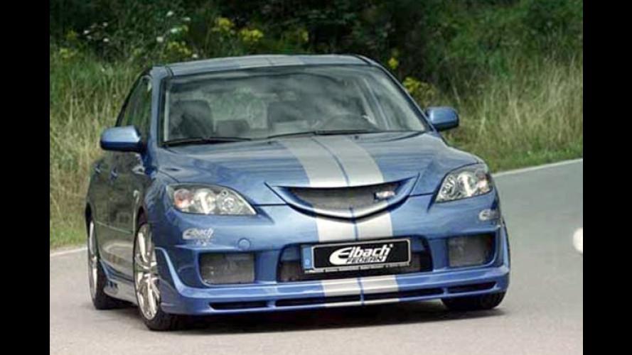 Eibach: Mazda-3-Paket aus Tuningkomponenten geschnürt