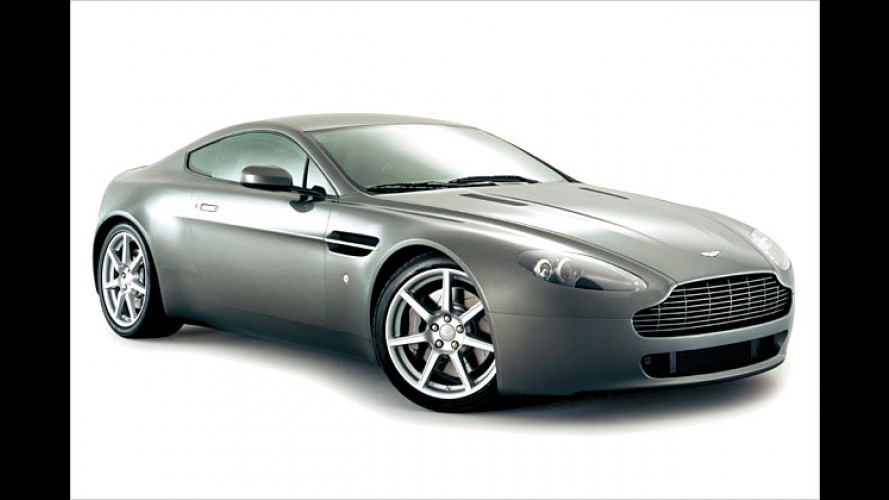Aston Martin V8 Vantage: Driving like James Bond