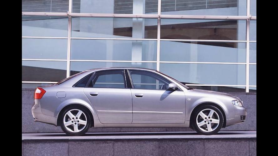Audi A4 1.9 TDI: Mehr Leistung und bessere Emissionswerte