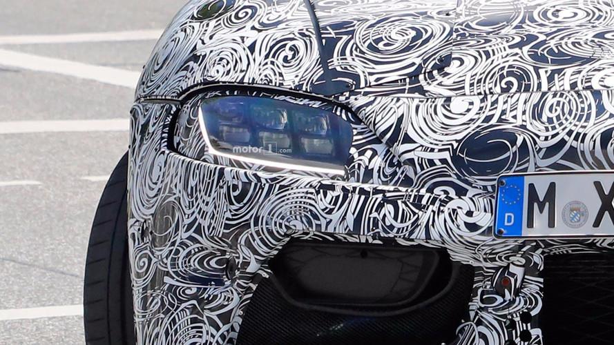 Toyota Supra ön farlar casus fotoğrafları