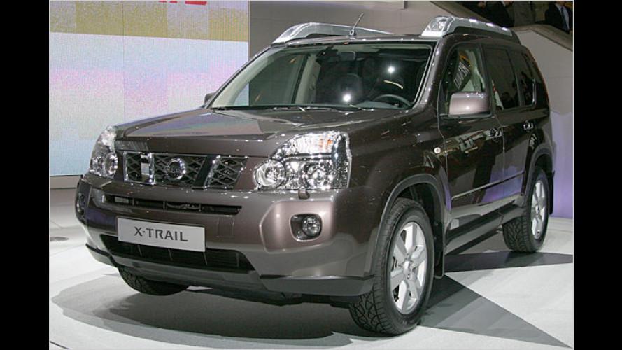 Gewachsen: Nissan zeigt in Genf den neuen X-Trail