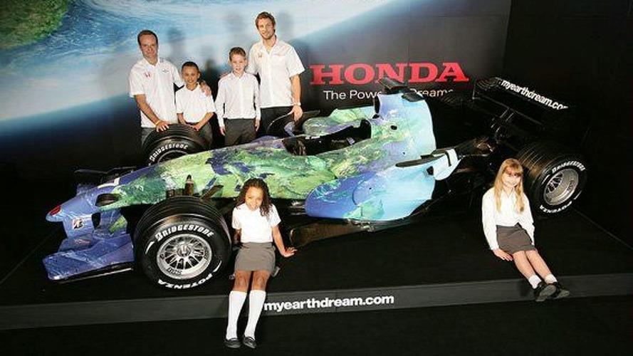 Honda F1's New Livery