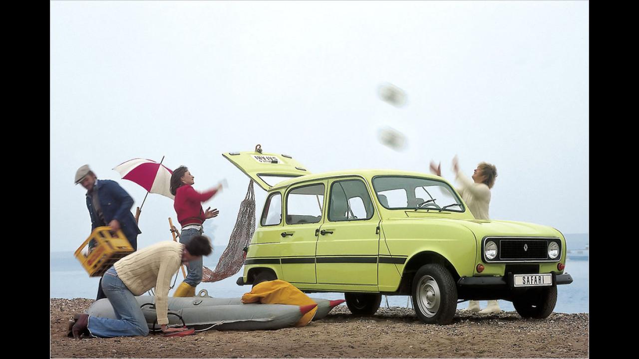 Renault 4: 8 Millionen (1961 bis 1992)