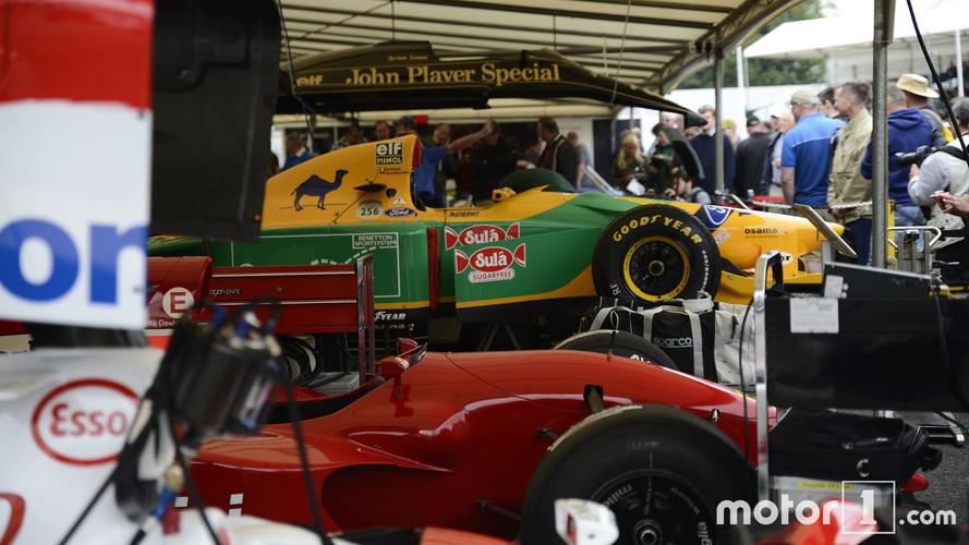 Los F1 en acción en el Festival of Speed de Goodwood 2017