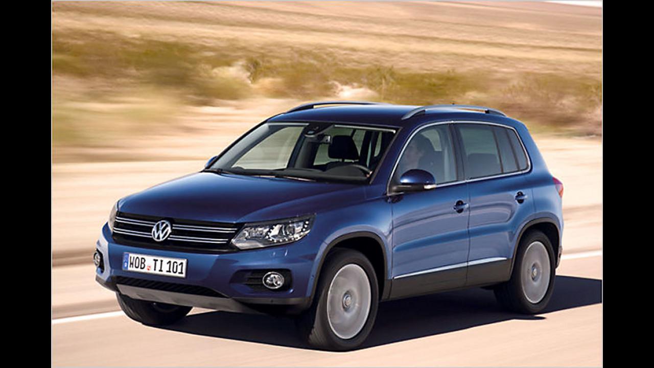 Platz 7: VW Tiguan, 5.061 Neuzulassungen
