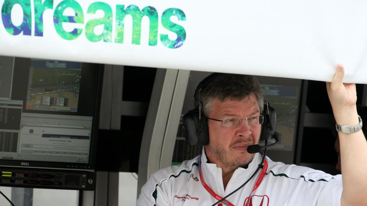 Ross Brawn 17.10.2008 Chinese Grand Prix