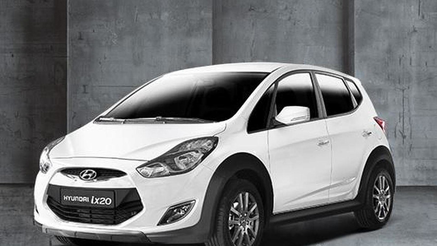Hyundai prepares ix20 Cross for Belgium