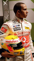 Lewis Hamilton Wax Work At Madame Tussauds