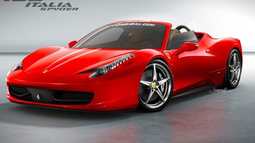Rendered Speculation: Ferrari 458 Italia Spyder
