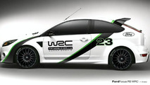 Ford Focus RS WRC special edition design proposal winner