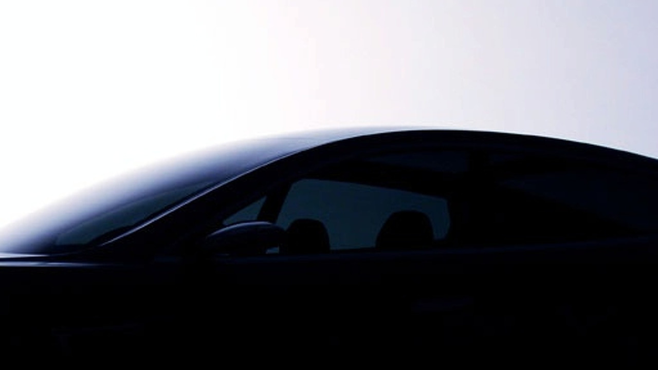 Tesla Model S Teaser Shot