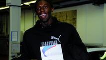 Olympic Champion Usain Bolt with BMW M3