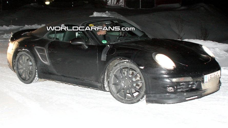 Next-Gen Porsche 911 (998) Carrera Cabrio Spied for First Time