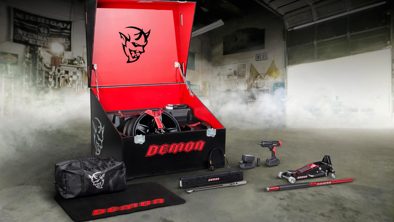 Dodge Demon Crate