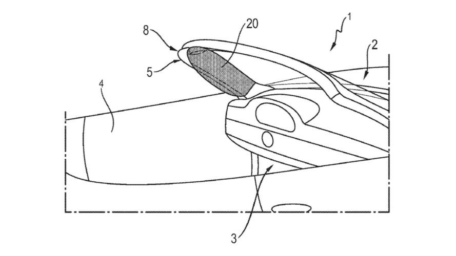 Porsche Patent Reveals A-Pillar Airbag For Convertibles