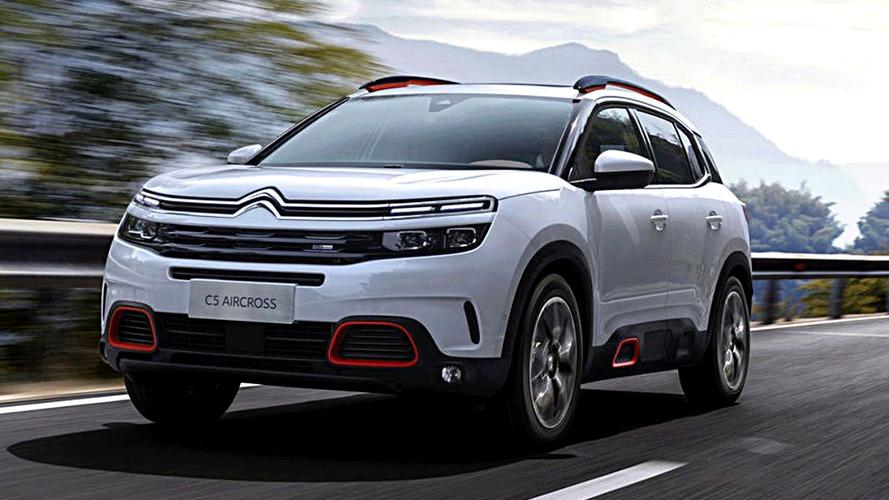 Citroën C5 Aircross Leaked Ahead Next Week Debut